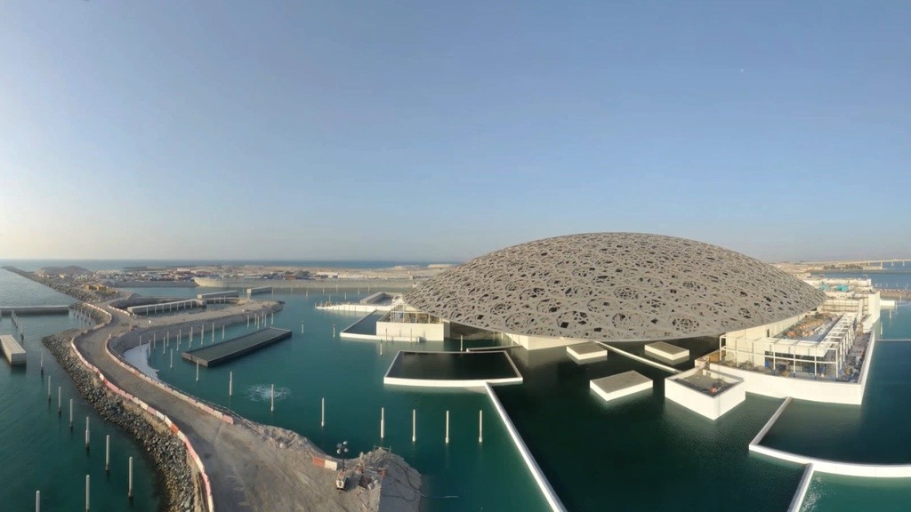 Uae megaprojects 2016 in pictures bosco conference - Construction of the louvre ...