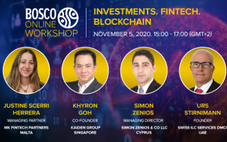 Investments. Fintech. Blockchain
