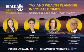 Tax and Wealth planning in volatile times