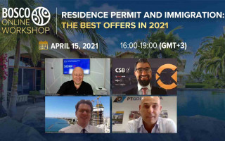 """15.04.21, Bosco Online Workshop """"Residence Permit and Immigration: the best offers in 2021"""": short review"""