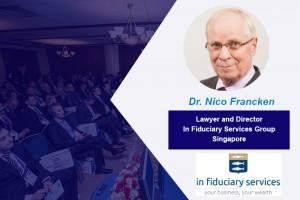 Dr. Nico J.C. Francken  – Speaker of the Conference WealthPro Ukraine, Kyiv 2017