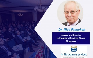 Dr. Nico J.C. Francken  – Speaker of the Conference WealthPro Ukraine, Kyiv 2017