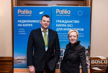 Pafilia - Partner of the international exhibition & conference InvesPro Cyprus, Limassol 2017