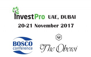 Bosco Сonference hold a conference InvestPro UAE, Dubai 2017 at Oberoi Hotels & Resorts Dubai.